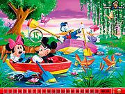 Игра Спрятанные числа Микки Маус