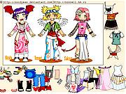 Игра Мини наряд для Наруто