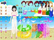 Игра Одевалки: на море