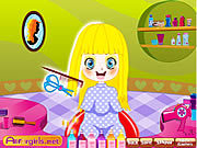 Игра Little Cutie Hairdo