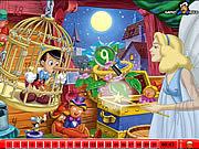 Игра Найти числа - Пиноккио