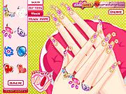 Игра Девушка ногтя красотки