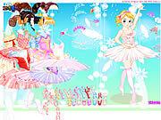 Игра Балерина одевается 2