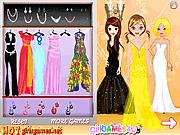 Игра Pageant королевы одеваются