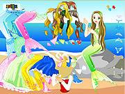 Игра Одеваем русалочку 2