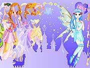 Игра Фея пурпурно  одевается