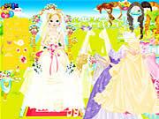 Игра Одеваем невесту