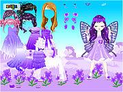 Игра Фея марта Фиолетовые цветы