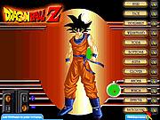 Игра Dragon Ball Z одеваются