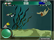 Игра Сильвестр на Морском Дне