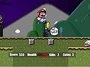 Игра Супер Марио и Хэллоуин