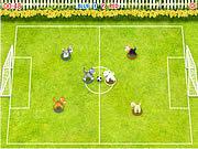 Игра Футбол Домашних Питомцев