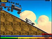 Игра Назад в Будущее: Сцена с Поездом