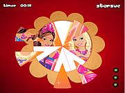 Игра Фэнтезийный рассказ Барби - круглая проблема