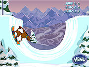 Игра Скуби Ду на Сноуборде