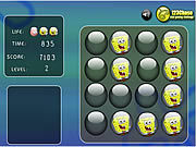 Игра Шарики памяти Bob губки