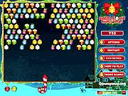 Игра Ударенный пузырь: Кристмас