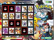 Игра Покемоны и плитки памяти