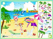 Игра Художественное оформление побережья