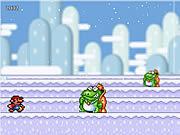 Игра Снежок Марио