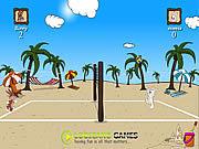 Игра Игра волейбола пляжа