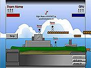 Игра Стикмен-червячки: Территория войны