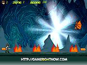 Игра Приключения Бена 10 в пещере