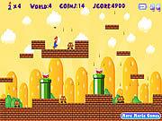 Игра Марио бегунок