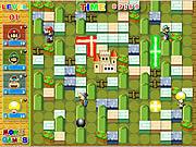 Игра Супер Марио - Бомбермен