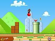 Игра Марио на шарике