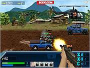 Игра Военная зона 2: Атака на джипе