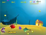 Игра Рыбные хрустики