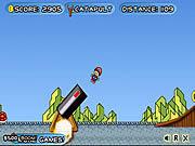 Игра Марио - пушечное ядро