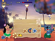 Игра Лило и Стич - Толкотня