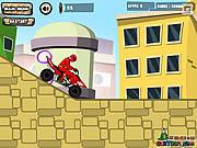 Игра Power Rangers Dino Красной ATV
