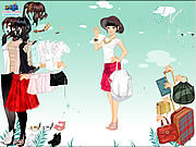 Игра Одевалки - юбка и блузка
