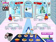 Игра Обед веселого пингвина
