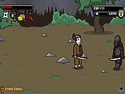 Игра Ниндзя против врагов