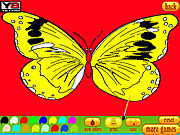 Игра 5 Раскраска бабочка