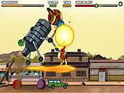 Игра Бен 10 - Спасение Спарксвиля