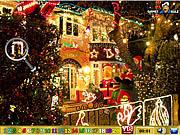 Игра Найти числа - Рождеством