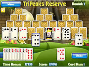 Игра Tripeaks заповедник