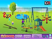 Игра Детская игровая площадка Декор