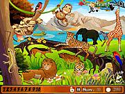 Игра Номер животного парка спрятанный