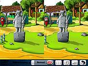 Игра Веселая ферма найти 5 отличий на 2 картинках