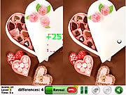 Игра Найди отличия - День Валентина