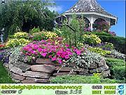 Игра Найти предметы - Цветочный сад