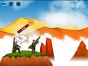 Игра Битва Базук - стрелялка на двоих