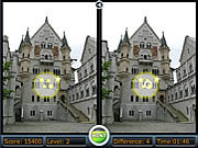 Игра Spot the Difference - Castles