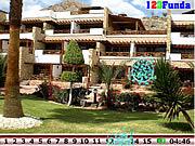 Игра Найти числа - Скрытый курорт